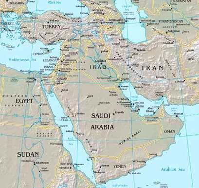 Southwest Asia (The Middle East) - Seventh Grade Social Studies